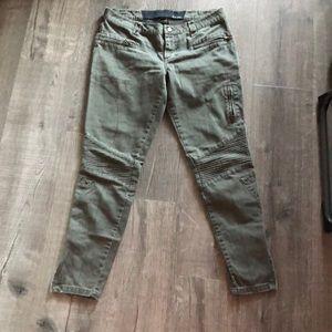 Joe's jeans cargo Military Moto Pants